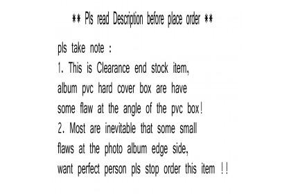 DISNEY WINNIE THE POOH 300PCS 4R PHOTO ALBUM * Clear stock item