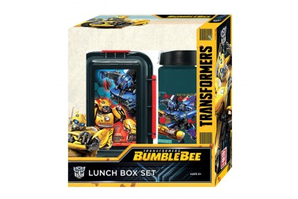TRANSFORMERS TF6 LUNCH BOX WITH WATER BOTTLE SET