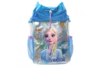 Disney Frozen 2 Elsa Drawstring Bag