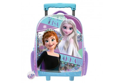 Disney Frozen 2 EVA Holographic Primary School Trolley Bag