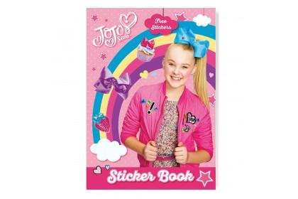 Jojo Siwa Sticker Book With Sticker