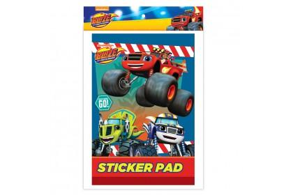 Blaze Monster Machines Sticker Pad With Sticker